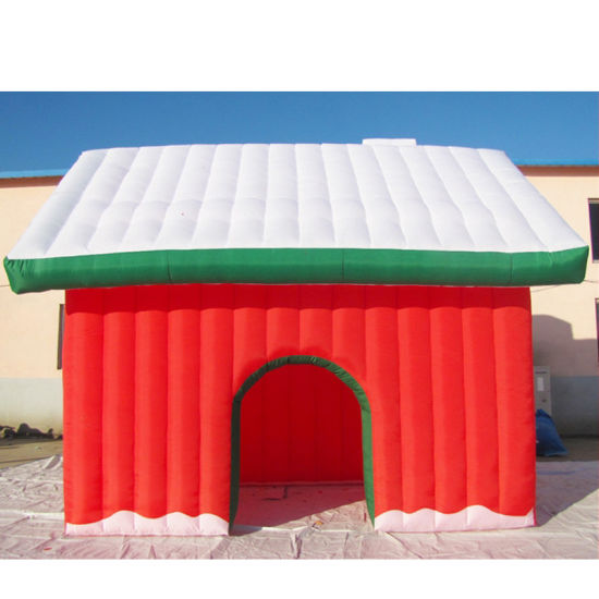 Christmas Holiday Decoration Fabric Inflatable Toy House pictures & photos