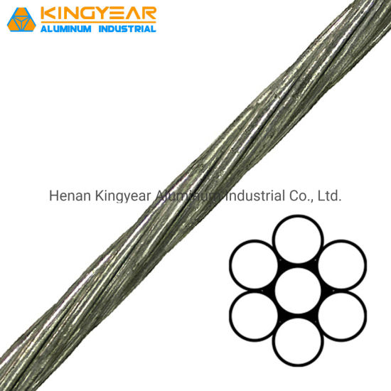 Galvanized Steel Wire Strand Ehs Grade Cable Stay Wire pictures & photos