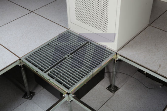 Perforated Raised Floor System with Intelligent Automatic Temperature Control Machine