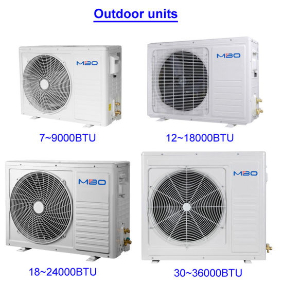 Mbo R410A New DC Inverter Wall Split Type Air Conditioner_60Hz pictures & photos