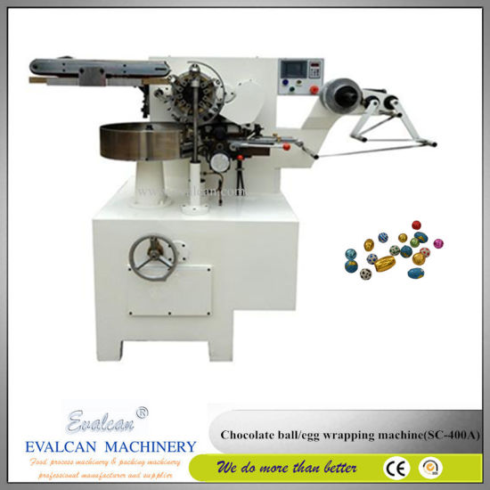 Automatic Wrapping Machine for Egg Chocolate pictures & photos