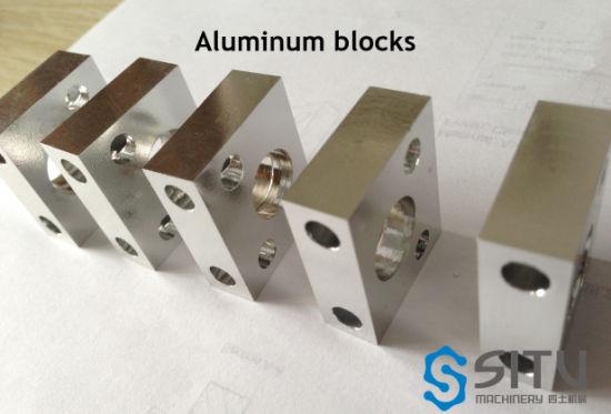 CNC Milling Machining Precision Metal Aluminum Hydraulic Valve Manifold Block Bearing Blocks