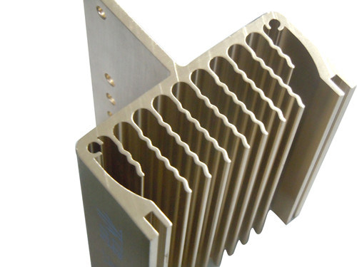 Aluminium/Customized Aluminum Heat Sink with CNC Machining pictures & photos