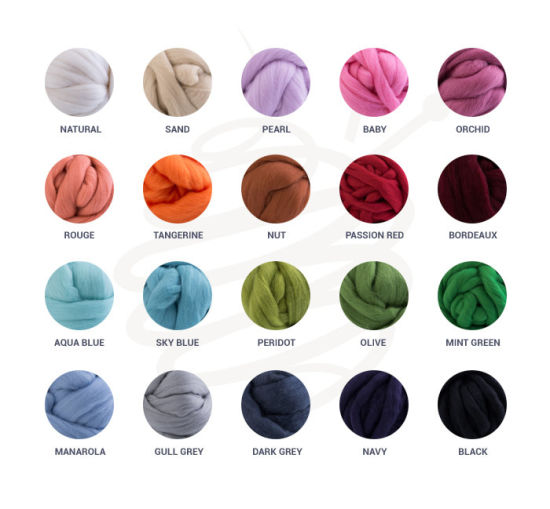 High Quality Chunky Knit Merino Wool Yarn for Hand Knitting pictures & photos