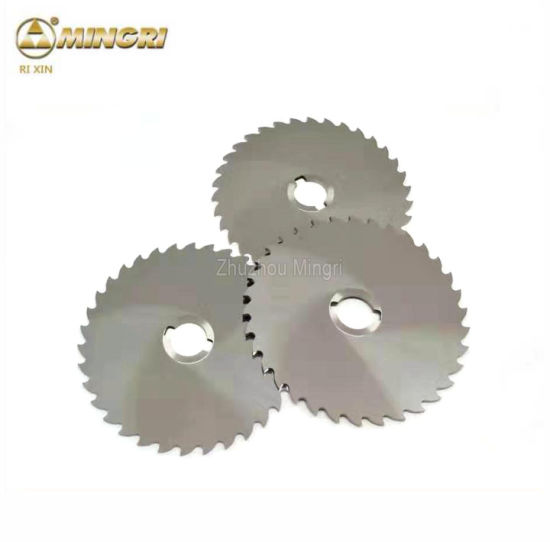 Cutting Metal Tungsten Cemented Carbide Disc Saw Blade Milling Cutter
