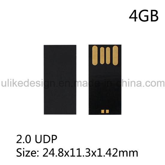 4GB UDP DIY USB Flash Drive Manufacturer Upgraded USB Pen Drive