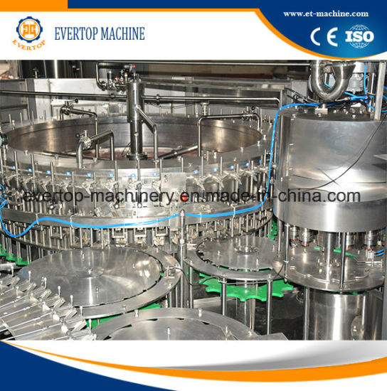 Automatic Carbonated Drinking Water Filling Machine/Equipment/Line pictures & photos