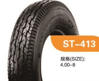 High Quality Motorcycle Tyre With 400-8-6PR ST413