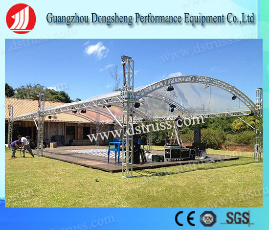 Global Truss DJ Stage Aluminium Spigot Truss System pictures & photos