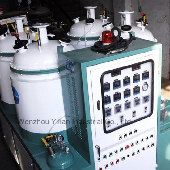 Four Tank Double Density PU Pouring Machine for Shoe Making