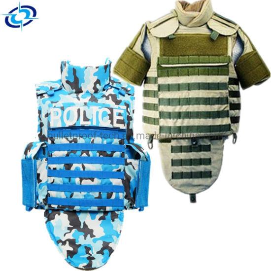 PE Bulletproof Jacket Ballistic Tactical Body Armor Vest