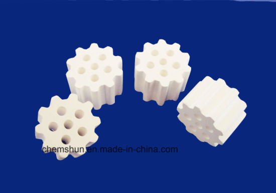 Chemical Resistance Alumina Raschig Rings as Tower Packing (Al2O3: 85~99%) pictures & photos