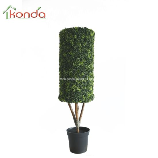 Gift Outdoor Artificial Potted Topiary Christmas Tree