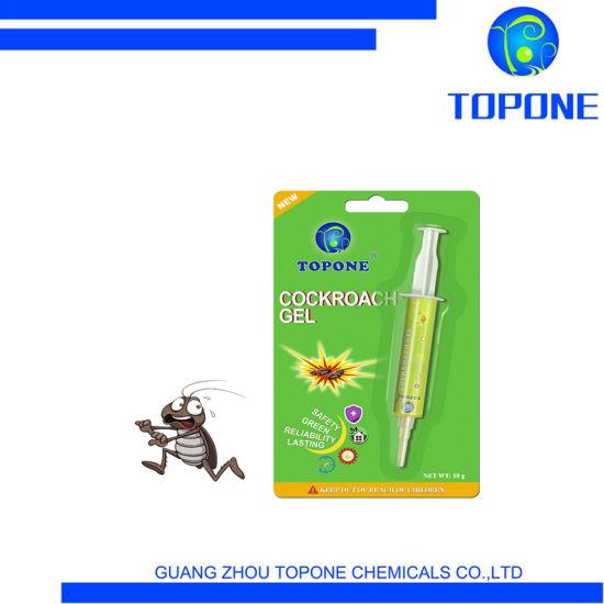 Topone OEM 2020 Hot Sale Chemical Cockroach Killer Cockroach Gel Needle Bait