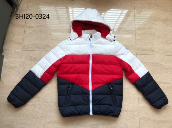 2020 New Style Warm Winter Men Sport Padding Jacket Colorfur