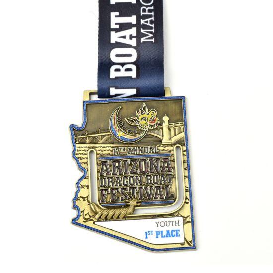 Custom Enamel Sports Metal Medals Finisher Medal