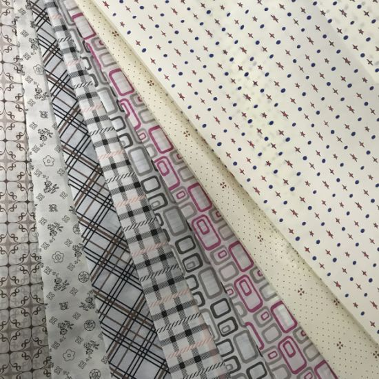Non-Slip Dots Coated Stretch Polyester Knitted Fabric for Gloves
