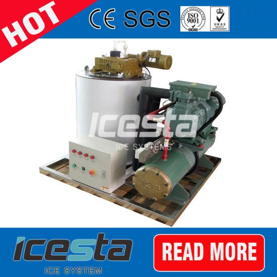 Aquatic Fishery Cooling Industry Seawater 5 Ton Flake Ice Machine