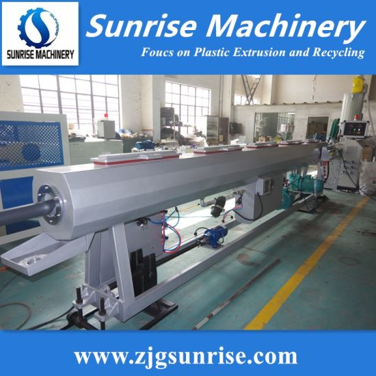 PE Plastic Pipe Production Line PE Water Pipe Extrusion Line