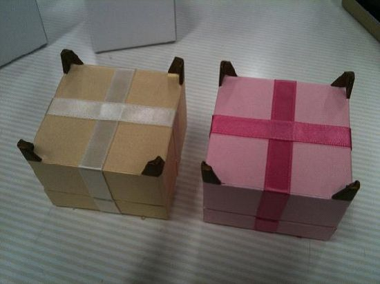 Custom Excellent Plastic Hinge Gift Jewelry Ring Packaging Box Wholesale
