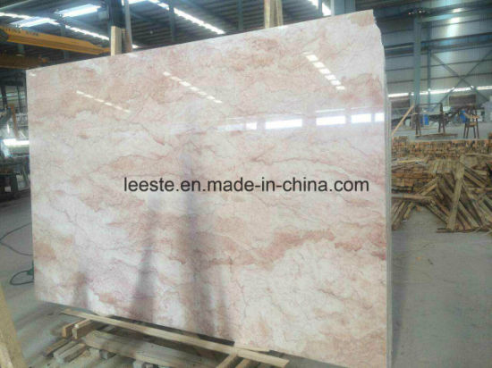 China Rose Cream Beige Marble Floor Tiles And Marble Wall Tiles