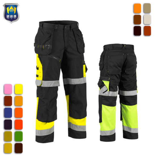 Wholesale Side Pocket Cheap Construction Worker Trousers