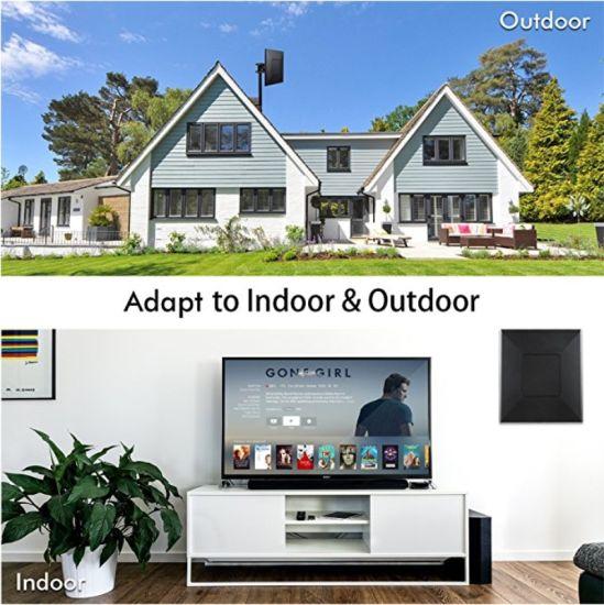 China Antenna Indoor Leaf TV Antenna 50 Mile Range, 4K HDTV Antenna