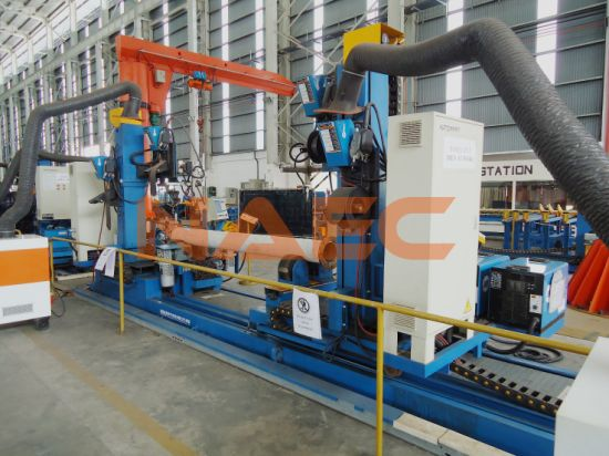 Automatic Tube Welding Station