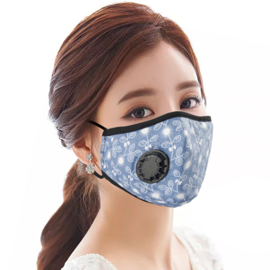 Cotton Pm2.5 Face Mask Anti Dustproof Reusable Washable Mask