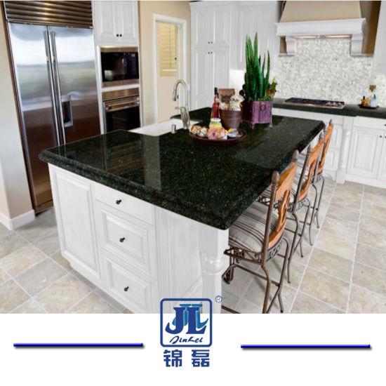 Green Yellow Gold Ubatuba Granite Kitchentops Countertops For Bathroom Or Vanity Tops