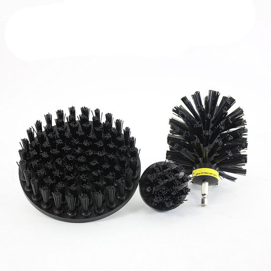 Hard Stiff Black Drill Brush Set pictures & photos