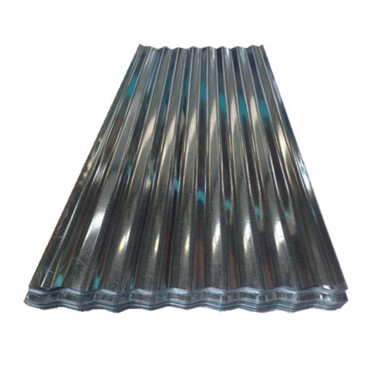 Building Materials Zinc Coated Corrugated Steel Roofing Sheet