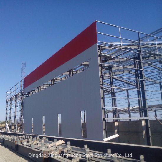 Industry Designed Structural Prefabricated Prefab Light Metal Corrugated Storage Frame Steel Structure Workshop Warehouse