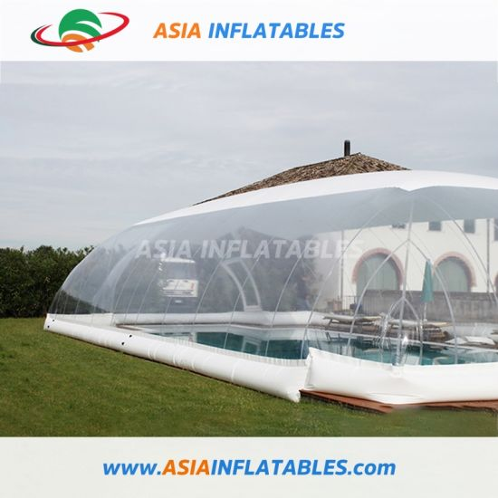 Indoor or Outdoor Inflatable Swimming Pool Cover, Water Pool Bubble Cover pictures & photos
