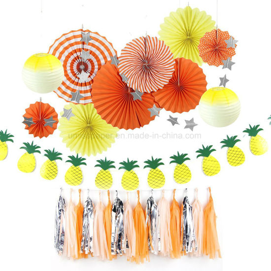Umiss Paper Summer Birthday Home Office Party Decorations