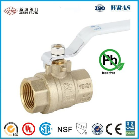 "1/2""-4"" CSA, UL Approved Lead Free Brass Ball Valve pictures & photos"