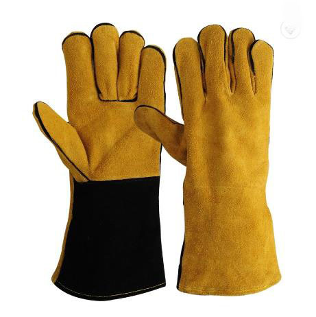 Sewn with Heat Resistant Thread Welders Glove