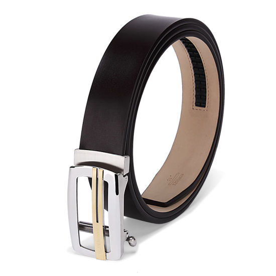 Factory Wholesale Genuine Leather Custom Design Automtaic Buckle Belt pictures & photos