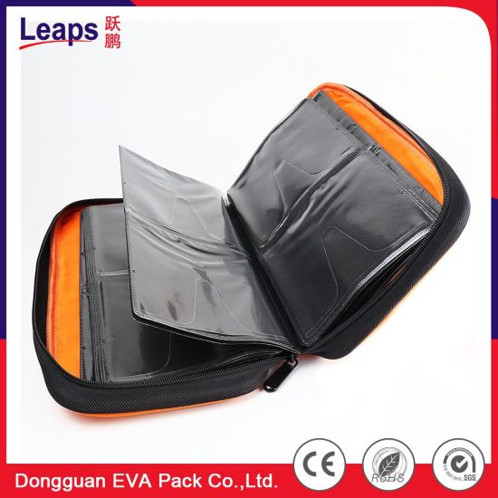 Portable EVA Specialized DVD Storage CD Package Case