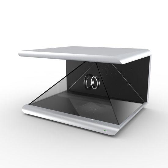 Desktop Holographic Display for Advertising