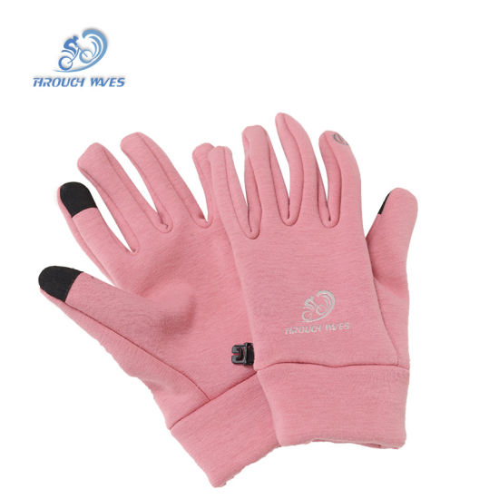 Custom Logo Snow Call Sport Winter Waterproof Cycling Gloves for Man pictures & photos