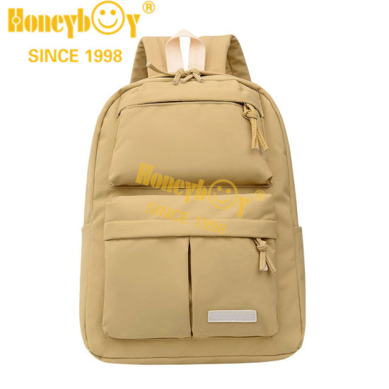 Nylon Candy Color Backpack for Girls 2021 New Design Fashion Backp[Ack for Teenagers and Colleges