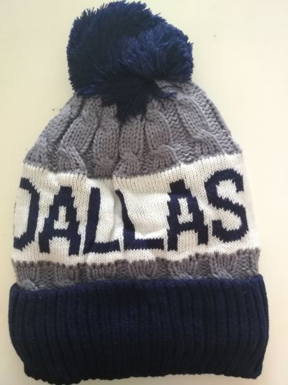 Team USA Dallas Classic Men′s Warm Winter Hats Thick Knit Cuff Beanie Cap ddffc6db1b5