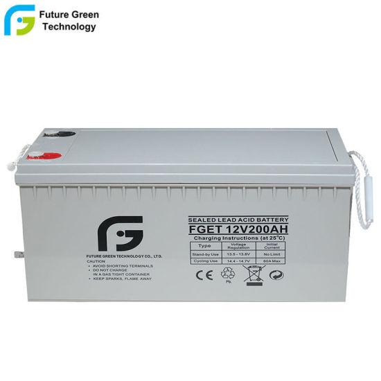 200ah Power Supply 12V Batteries for Solar System