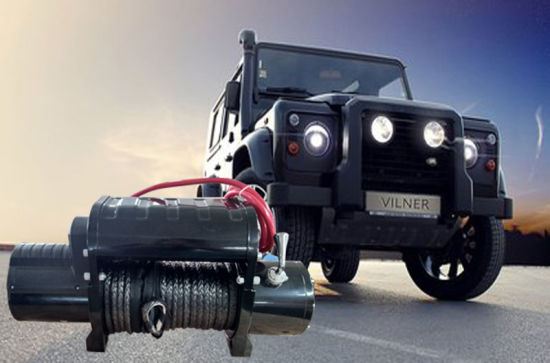 Self Recovery 4X4 Electric Winch 12000lbs with Metal Control Box