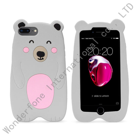 3D Silicone Ultra Soft Gel Best Phone Cover for iPhone Xs