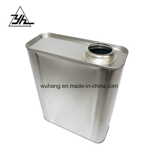 1 Liter Square Tin Can with Plastic Cap Oil Container pictures & photos