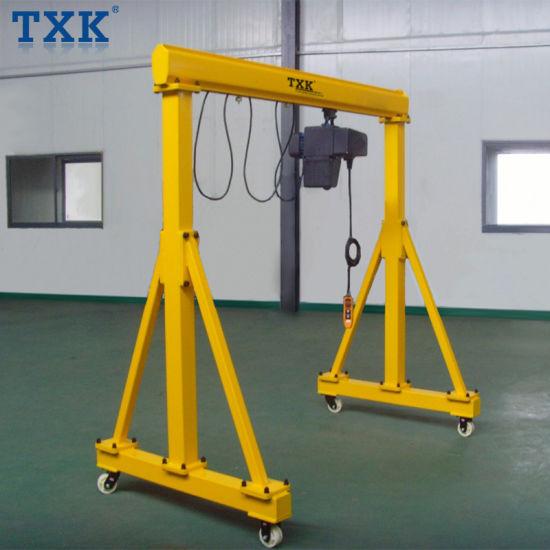 25 Ton Easy Assemble Mini Portable Manual Gantry Crane