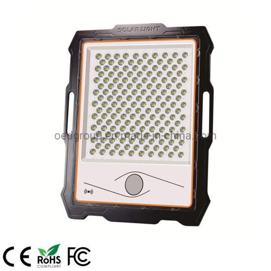 Aluminum and Lens 6000K White Color 600W Portable Solar LED Flood Light