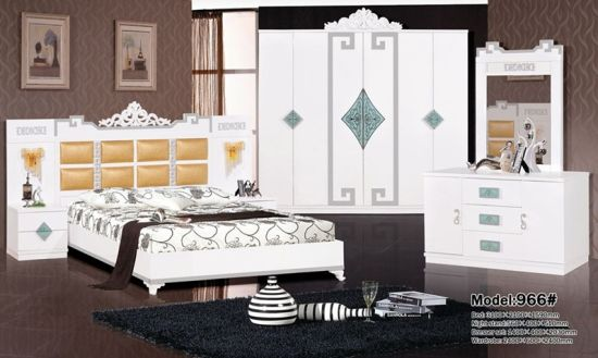 Cheap Price Bedroom Sets White Series Hot Selling to Middle ...